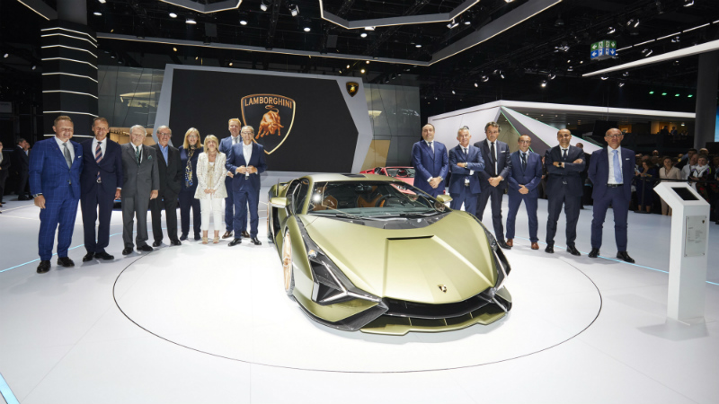 Video: Lamborghini Sián FKP 37
