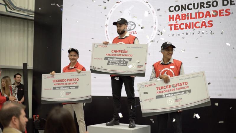 YOKOMOTOR, el mejor en concurso de Habilidades Toyota