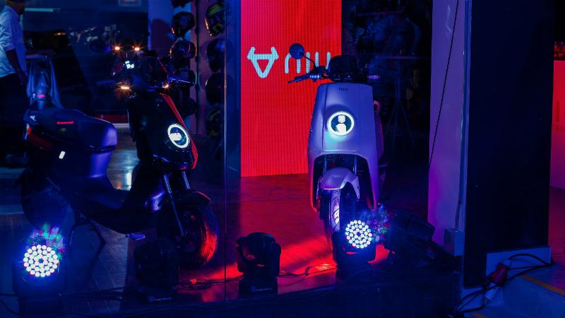 NIU, la nueva motocicleta eléctrica de AKT