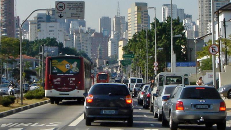 Sao Paulo, crisis de tránsito