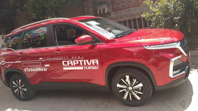 Chevrolet Captiva Turbo 7 pasajeros llega a Colombia