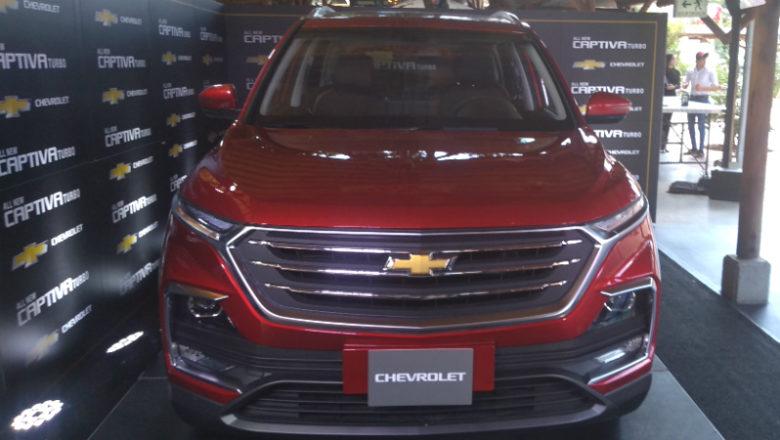 Imágenes de la nueva Chevrolet Captiva Turbo