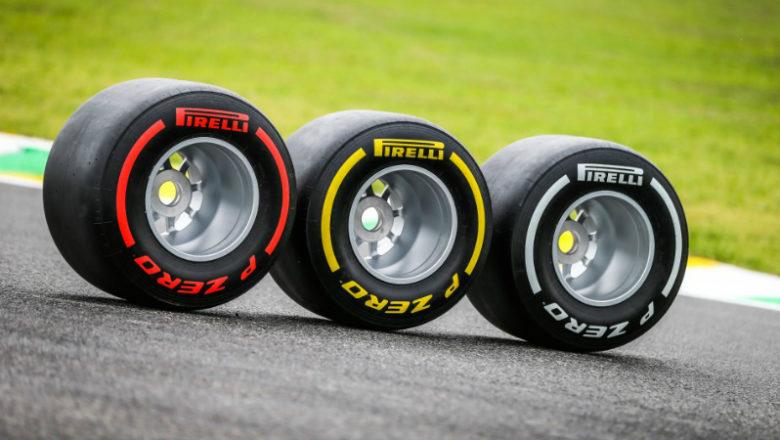 Pirelli anuncia el tipo de llantas para las carreras de la F1