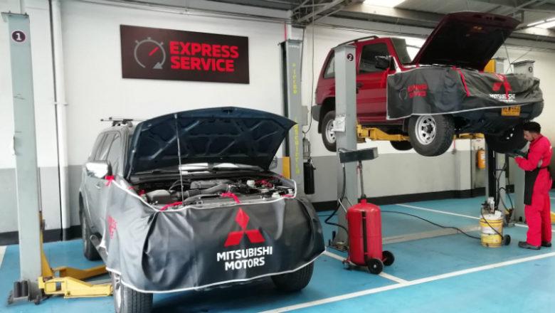 Mitsubishi Express Service, mantenimiento en 60 minutos
