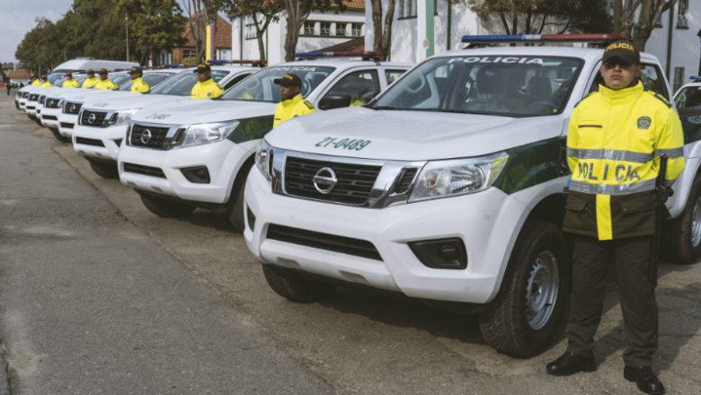 Nissan Frontier, aliado de la Policía Nacional de Colombia