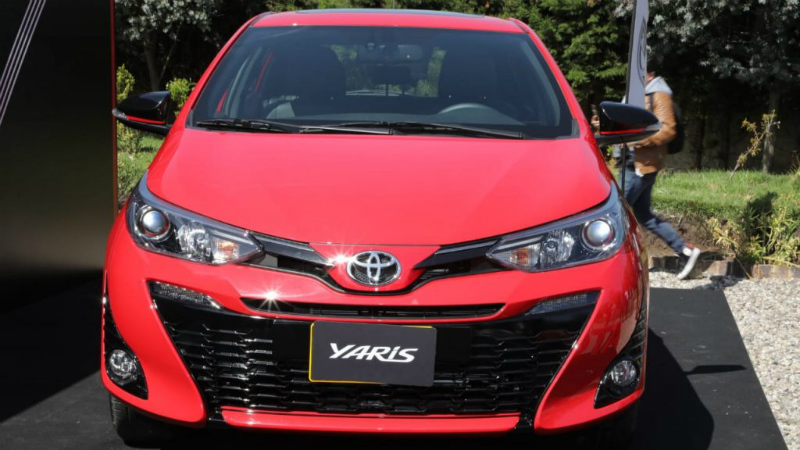 Toyota Yaris llegó a Colombia
