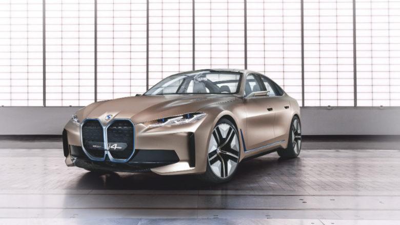 BMW i4 Concept: Todo lo que debe saber