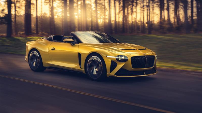 Distinción británica en el Bentley Mulliner Bacalar
