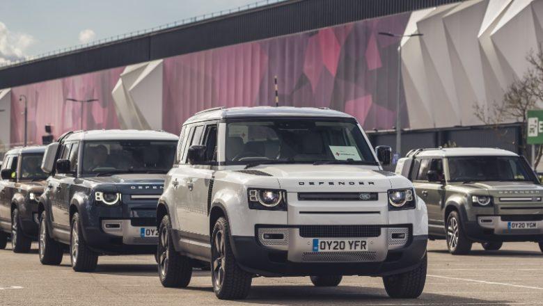 JLR entregan vehículos para luchar contra el COVID-19