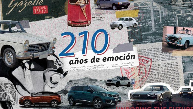 Peugeot festeja 210 años de historia y muchos éxitos