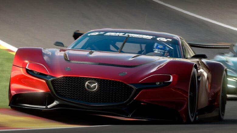Mazda RX-Vision GT3 Concept, auto para jugar en línea
