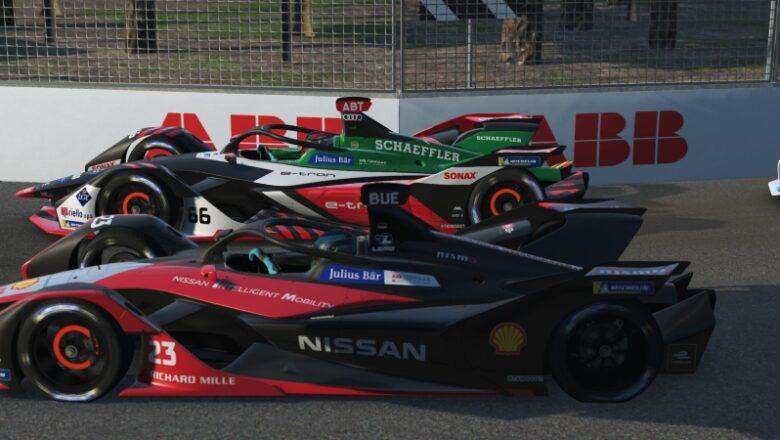 Nissan e.adams se destaca en carreras virtuales