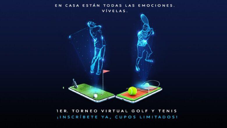 Copa virtual de tenis y golf  by Peugeot