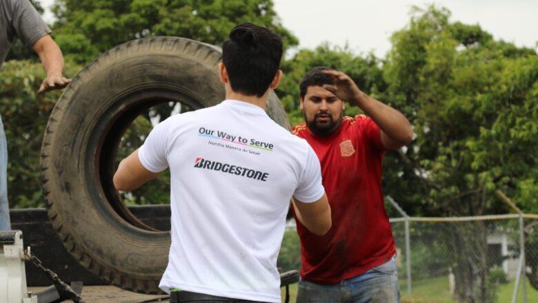 Bridgestone: ¿qué hacer con las llantas de desecho?