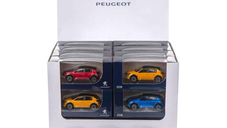 Peugeot 208, abre su mundo para los coleccionistas