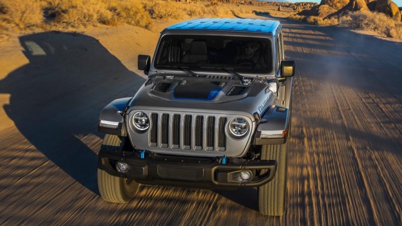 Jeep Wrangler Rubicon 4xe, revolución ecológica