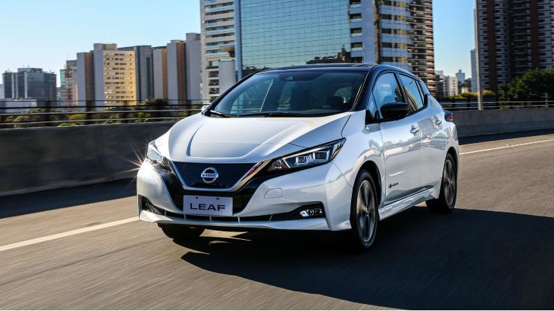 Nissan LEAF se suma a caravana para celebrar la movilidad sostenible
