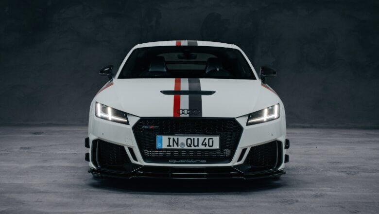 Audi TT RS, celebra los 40 años de la tracción quattro