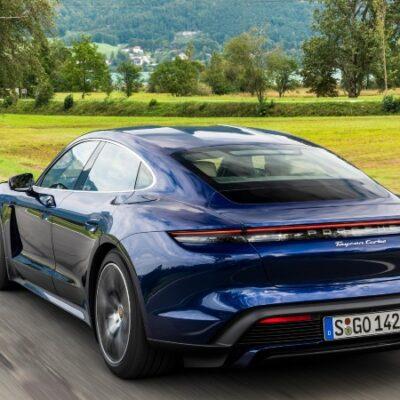 Taycan de Porsche ya está en Colombia