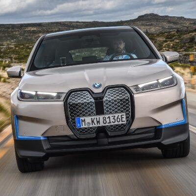 BMW iX establece el futuro de los SAV