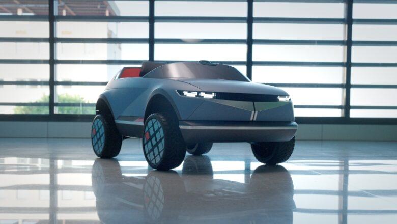 """Hyundai y su vehículo eléctrico """"petit"""""""