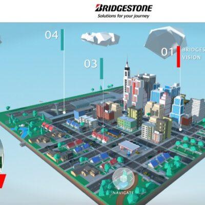 CES 2021: Bridgestone y su Ciudad Virtual del Futuro