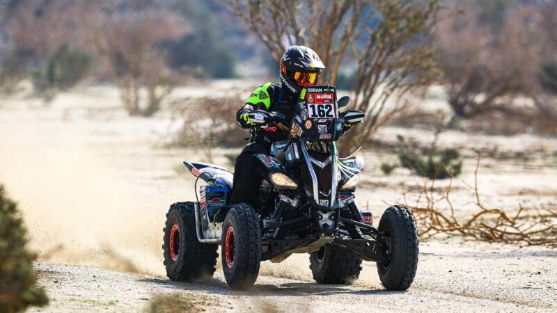 Rally Dakar 2021, con bandera colombiana