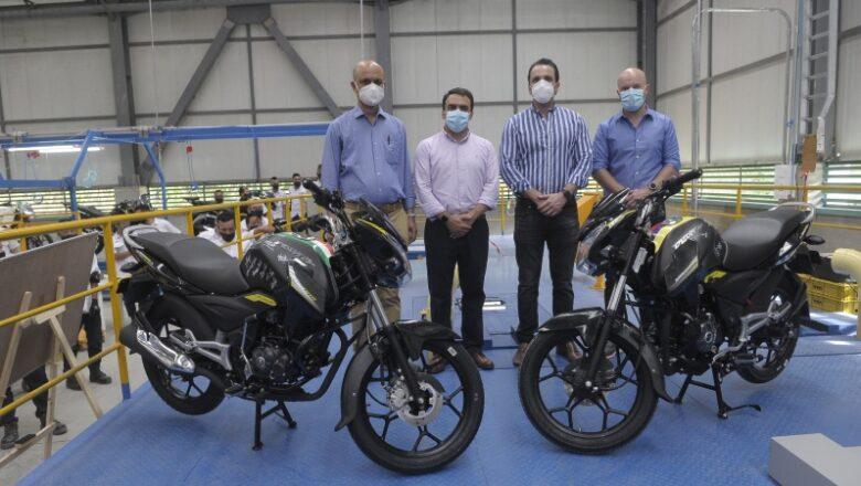 Bajaj comenzó su producción de motocicletas en Quindío