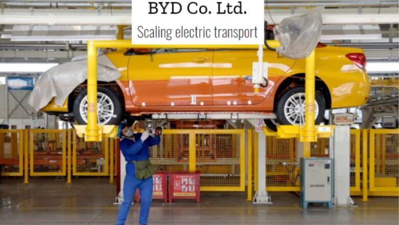 BYD, en el Top 100 de empresas más influyentes del mundo