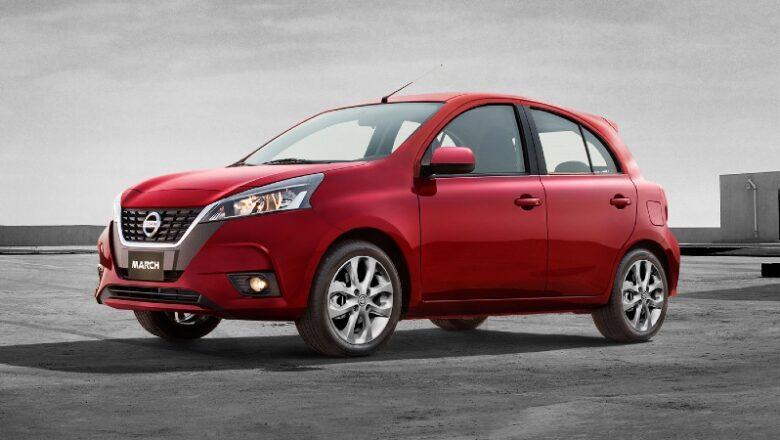 Nissan March 2022 arribó a Colombia con nuevo look