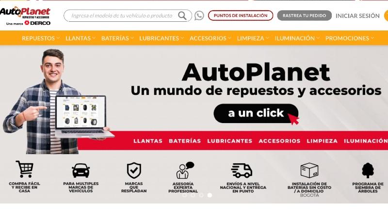 Autoplanet, e-commerce de repuestos y accesorios de Derco