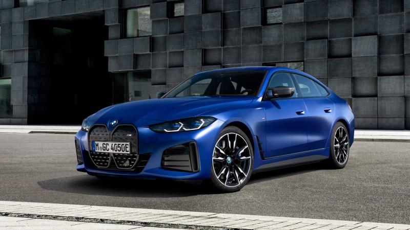 BMW i4, el gran coupé eléctrico de la casa bávara