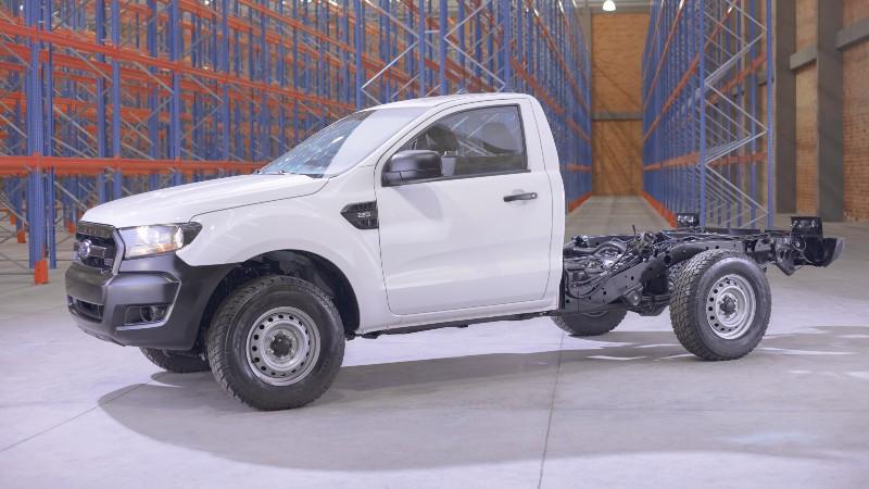 Ford Ranger XL Chasis Diésel 4x4, poderosa pickup