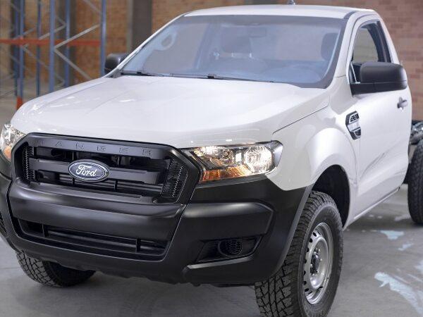 Ford Ranger XL Chasis Diésel 4×4, poderosa pickup