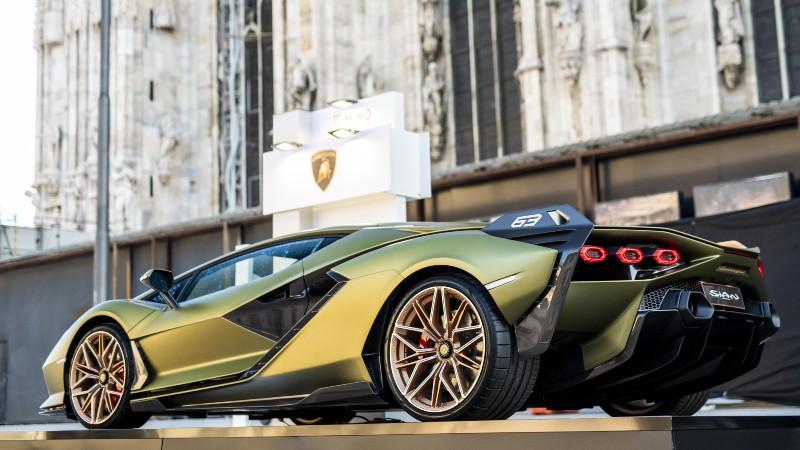 Milán Motor Show: Lamborghini se lució