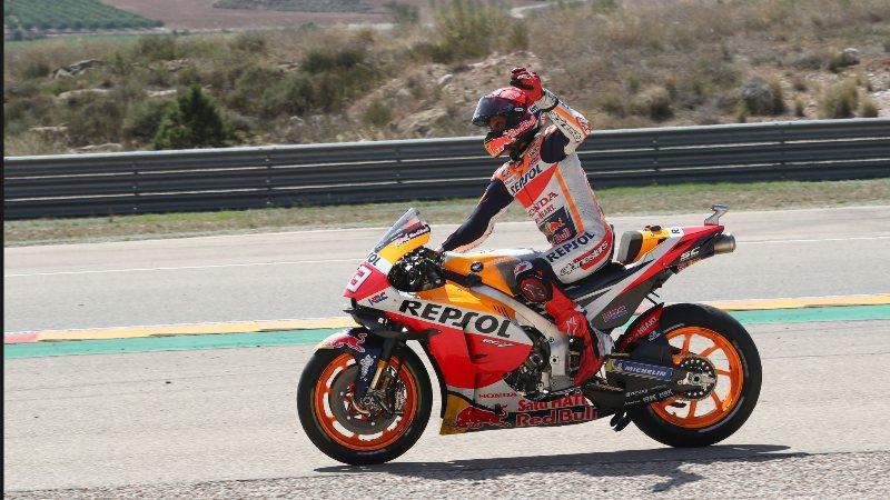 Moto GP: Marc Márquez y sus buenas sensaciones